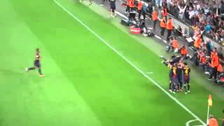 Messi Free Kick Goal FC Barcelona VS  Real Madrid