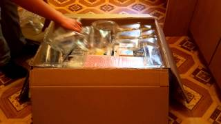 THE BIG BROWN BOX UNBOXING - paket iz nemčije