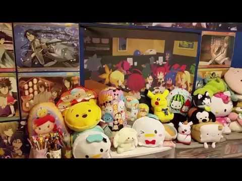 2017 Otaku Wonderland Room Tour Part 1