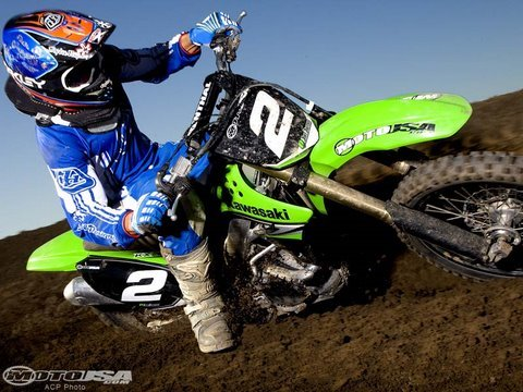 2009 Kawasaki KX250F - Motocross Dirt Bike Comparison Video