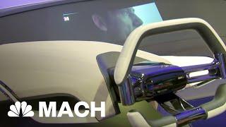 BMW Unveils Hologram Dashboard At CES | Mach | NBC News