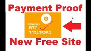 New Free Bitcoin Cloud Mining Site 2019   Top 2 Free Bitcoin Mining Sites 2019   Live Payment Proof