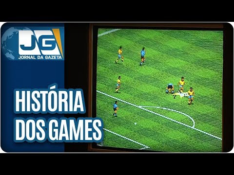 Exposição sobre história dos games