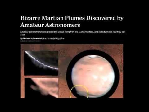 """""""Baffling"""" Mars Plumes are Electric 