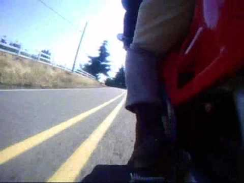 1994 Honda VFR750F Bald Peak Video