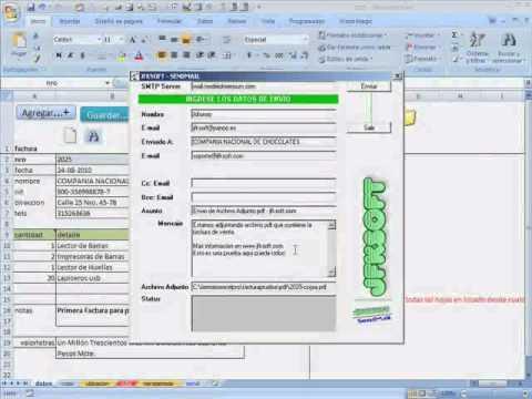 Cómo llenar formatos preimpresos con solo escanear formato y vincular campos con Excel