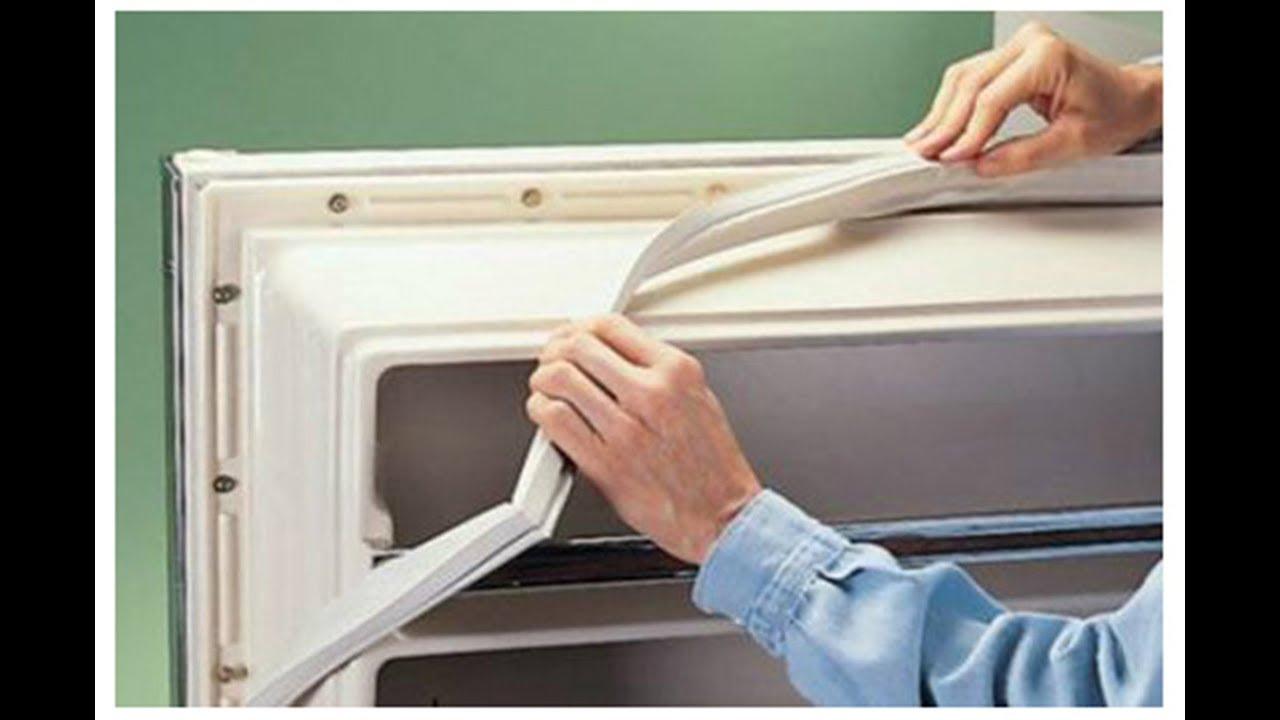Замена своими руками уплотнителя холодильника стинол 54