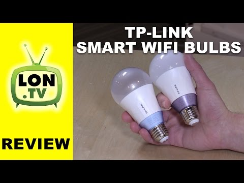 TP-Link Multicolor and White (tunable) Smart Wi-Fi Bulb Review - Alexa Enabled. No Hub Required