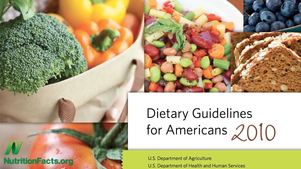 Dietary Guidelines: Corporate Guidance