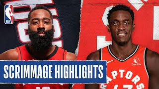 ROCKETS at RAPTORS | SCRIMMAGE HIGHLIGHTS | JULY 24, 2020