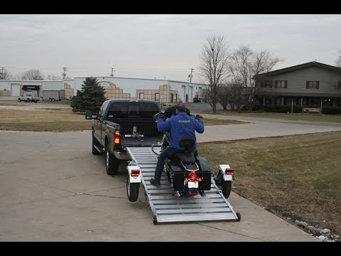 Condor T-Ramp Motorcycle Trailer