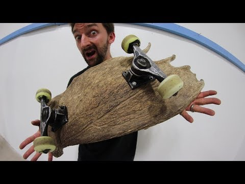 MOOSE ANTLER SKATEBOARD! | YOU MAKE IT WE SKATE IT EP 146