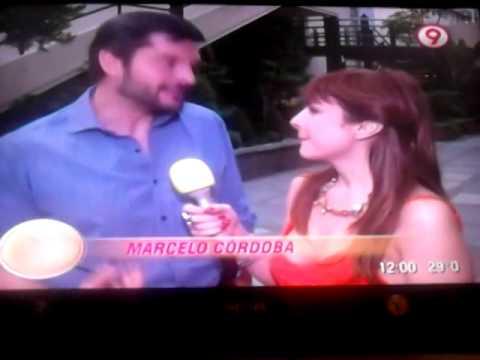 Carolina Papaleo entrevista a Marcelo Cordoba para secretos de novelas 1 parte-