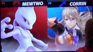 Super Smash Bros. Ultimate - shofu (Mewtwo) vs VikkiKitty (Corrin)