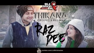 Raz Dee | THIKANA | Official Music Video | Bangla R&B + Future Bass | Crostec x Red Wan