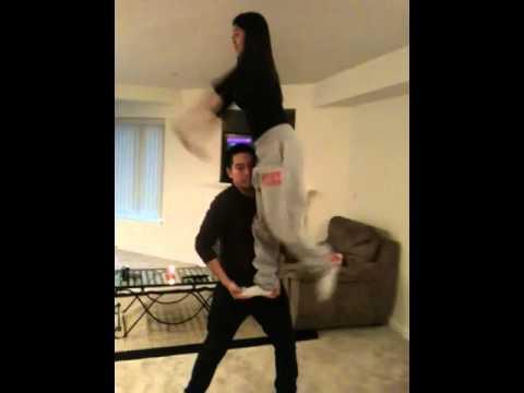 Partner Stunts For Beginners Easy Partner Stunting