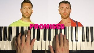 Baixar HOW TO PLAY - Calvin Harris, Sam Smith - Promises (Piano Tutorial Lesson)