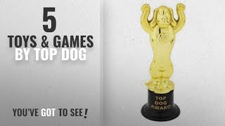 "Top 10 Top Dog Toys & Games [2018]: ""Top Dog Award"" Trophies - 12 ct"