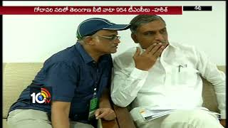 Minister Harish Rao On TS Irrigation Projects | #NWDAMeeting | Delhi