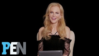 What Nicole Kidman's Thinking When The Camera's On Her At An Award Show   PEN   Entertainment Weekly