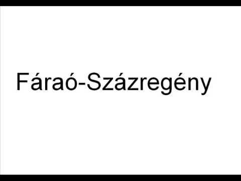 Fáraó - Százregény