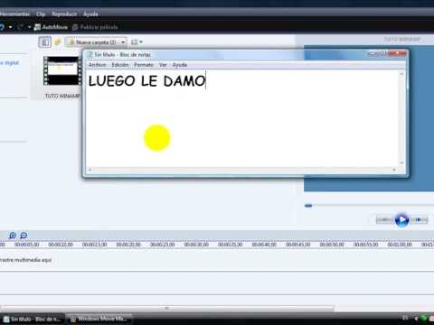 como comprimir videos con windows movie maker