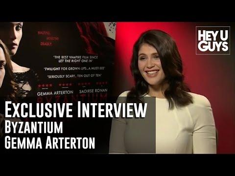 Gemma Arterton Interview - Byzantium