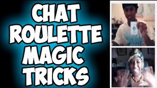 ChatRoulette Magic Tricks