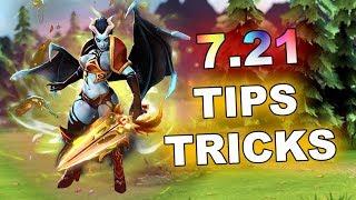7.21 - Dota 2 NEW Tips and Tricks!