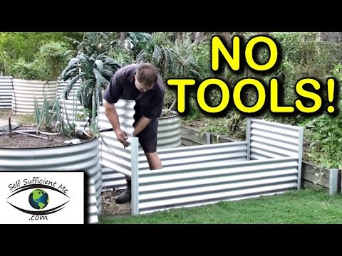 Raised Bed Organic Garden Co Kit Review No TOOLS   Sold at Bunnings