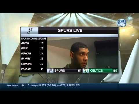 Spurs humilla a Celtics