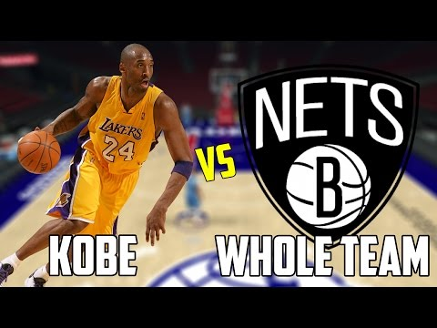 CAN KOBE BRYANT BEAT THE WORST NBA TEAM BY HIMSELF? NBA 2K17!