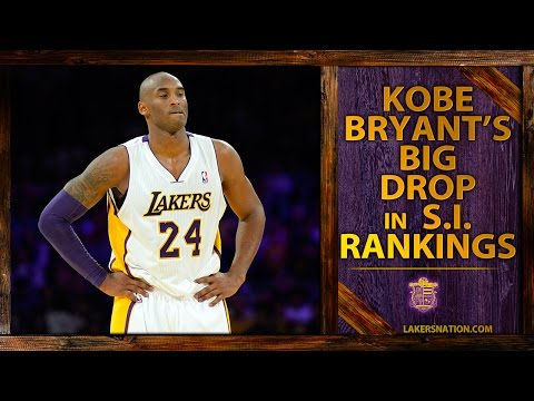 Kobe Bryant's Big Drop In Sports Illustrated 2014 NBA Player Rankings