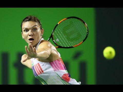Miami Open Second Round | Simona Halep vs Daria Kasatkina | WTA Highlights