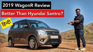 2019 Maruti Wagon R Road Test Review by Vikas Yogi - Positives & Negatives | ICN Studio