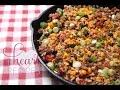 Tex Mex Ground Beef Skillet- I Heart Recipes