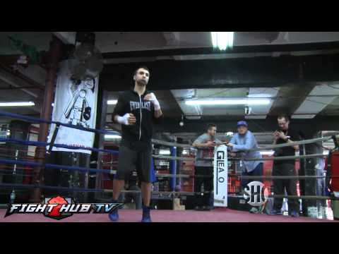 Zab Judah vs  Paulie Malignaggi Paulies Xmas wish is a win over Judah