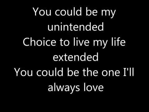 Muse-Unintended (Lyrics)