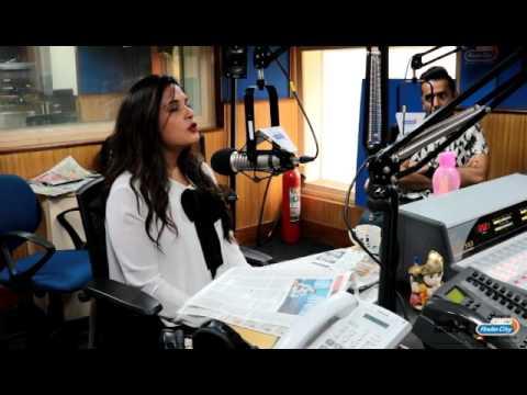 Richa Chadda at RadioCity Mumbai to promote Sarbjit
