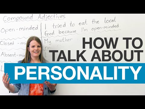 Learn English Vocabulary: Compound Adjectives To Describe People video