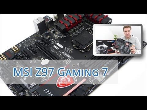 MSI Z97 Gaming 7 Unboxing / Review (german / HD)