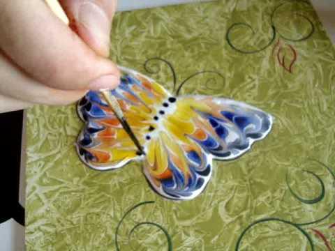 mauro tavares pintura decorativa borboleta abstrata