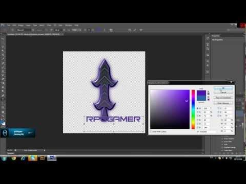 วิธีการทำโลโก้แบบง่าย   Logo   illustrator+Photoshop  CS6
