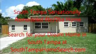4323 S Lois Ave Tampa Fl 33611 South Tampa Real Estate Video Manhattan Manor