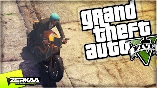 "GTA 5 Funny Moments | ""MAD MOTO SKILLS"" 