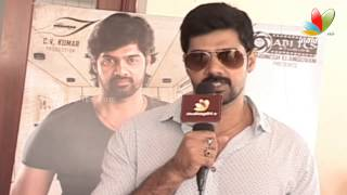 Sarabham Team Shares about Movie | Naveen Chandra, Salony Luthra, Aadukalam Naren