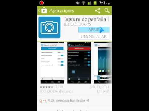 Captura de pantalla... Para alcatel one touch 4010