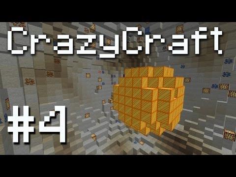 CrazyCraft Minecraft Modpack - Planetary Mining! #4