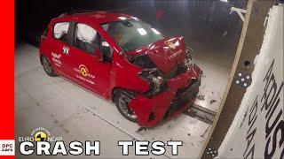 2018 Toyota Yaris Crash Test & Rating