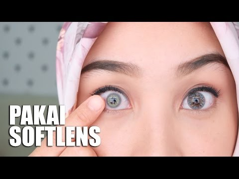 HOW TO USE CONTACT LENSES + SWATCHES | CARA PAKAI, COPOT, BERSIHIN SOFTLENS | IRNA DEWI - YouTube